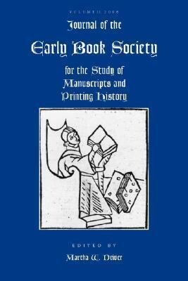 Journal of the Early Book Society, Volume Eleven als Taschenbuch