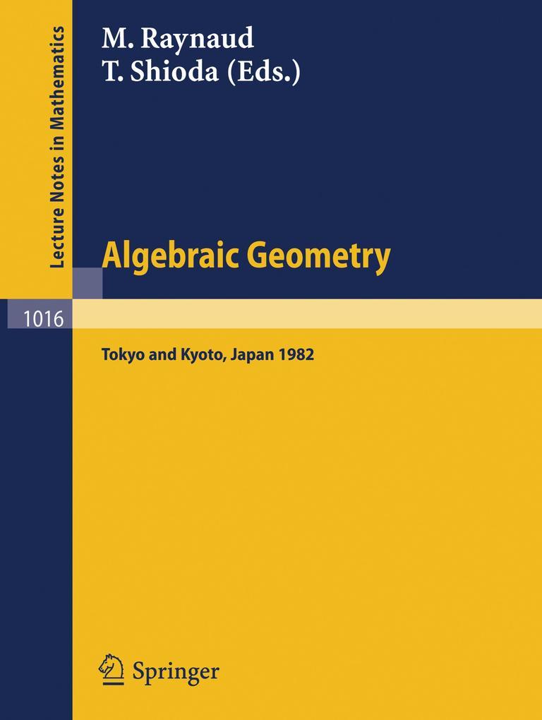 Algebraic Geometry als Buch (kartoniert)