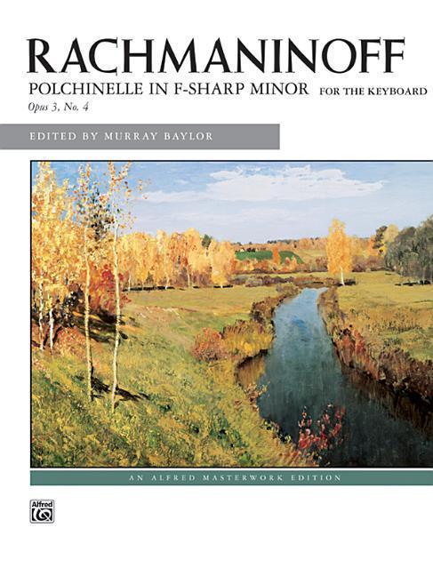 Polichinelle in F-Sharp Minor, Op. 3 No. 4 als Taschenbuch