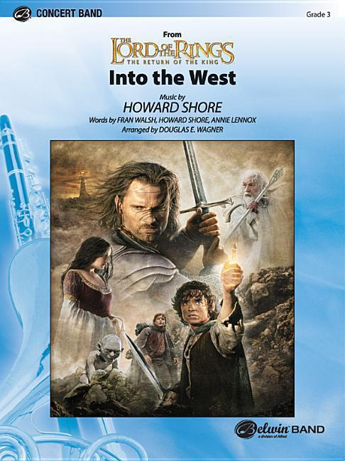 Into the West (from the Lord of the Rings: The Return of the King) als Taschenbuch
