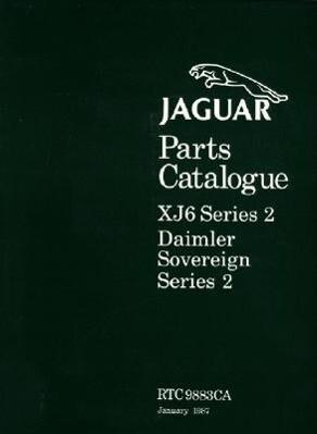 Jaguar XJ6 Series 2 Parts Catalogue als Taschenbuch