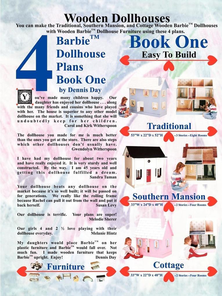 Barbie Dollhouse Plans Book One als Taschenbuch