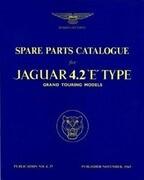 Jaguar E-Type 4.2 Series 1 Parts Catalogue