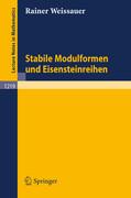Stabile Modulformen und Eisensteinreihen