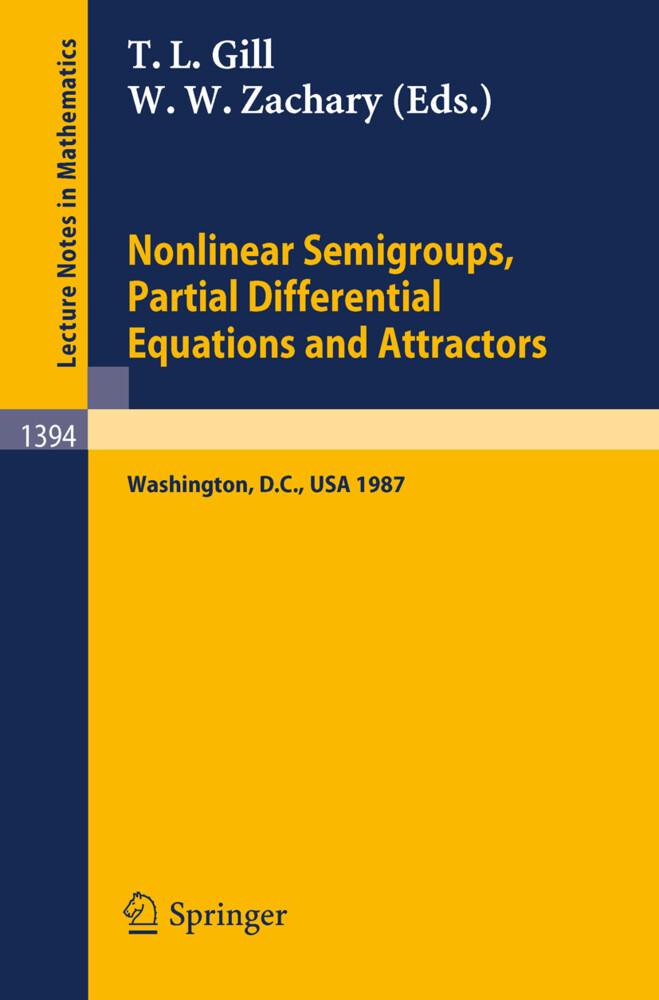 Nonlinear Semigroups, Partial Differential Equations and Attractors als Buch (kartoniert)