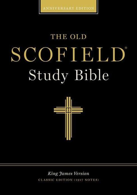 Old Scofield Study Bible-KJV-Classic als Buch (Ledereinband)