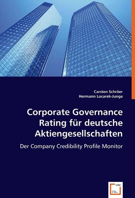 Corporate Governance Rating für deutsche Aktiengesellschaften als Buch (kartoniert)