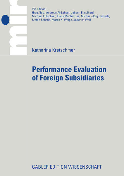 Performance Evaluation of Foreign Subsidiaries als Buch (kartoniert)
