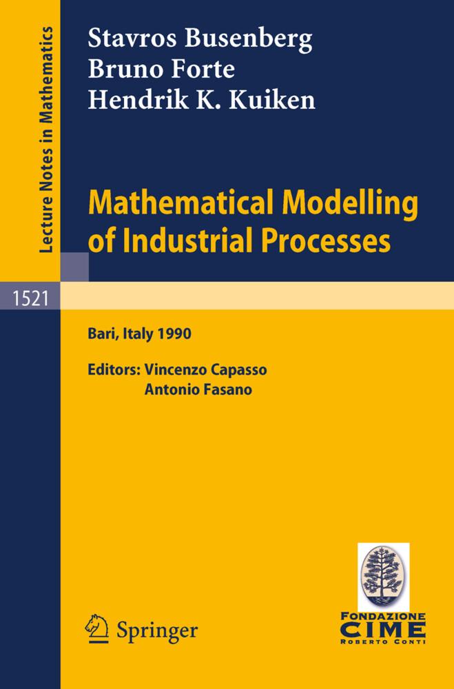 Mathematical Modelling of Industrial Processes als Buch (kartoniert)