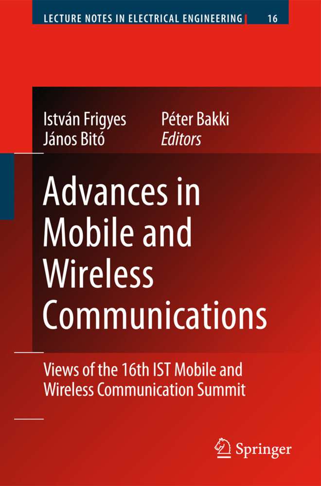 Advances in Mobile and Wireless Communications als Buch (gebunden)