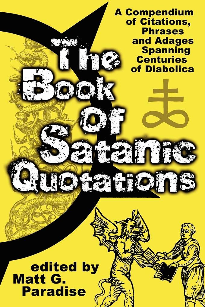 The Book of Satanic Quotations als Taschenbuch