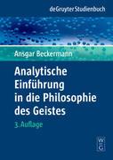 Analytische Einführung in die Philosophie des Geistes