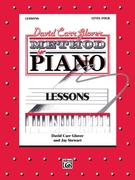 David Carr Glover Method for Piano Lessons: Level 4