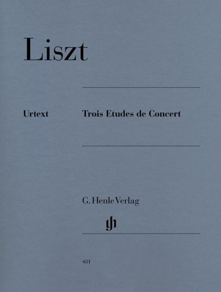 Trois Etudes de Concert als Buch (kartoniert)