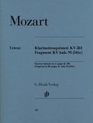 Klarinettenquintett A-dur KV 581 und Fragment KV Anh. 91 (516c)