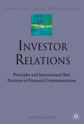 Investor Relations: Principles and International Best Practices of Financial Communications