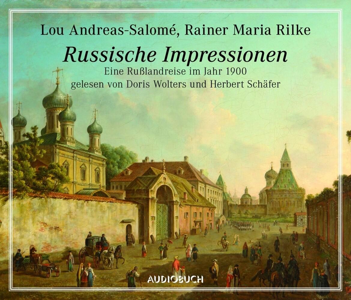 Russische Impressionen als Hörbuch CD