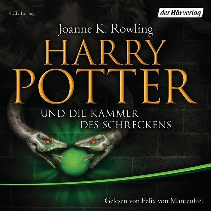 Harry Potter 2 und die Kammer des Schreckens. Ausgabe für Erwachsene als Hörbuch CD