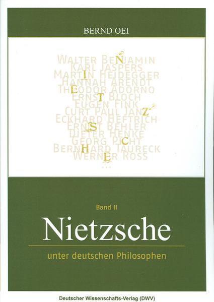 Nietzsche unter deutschen Philosophen als Buch (kartoniert)
