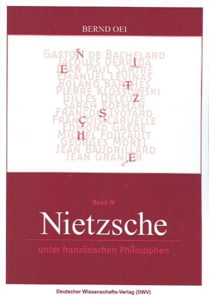Nietzsche unter französischen Philosophen als Buch (kartoniert)