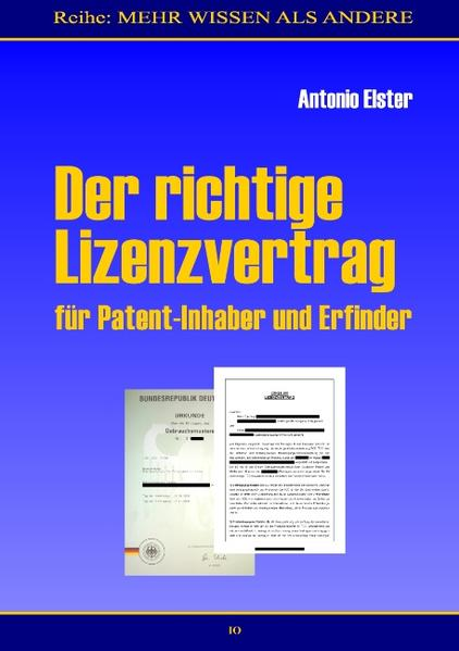 Der richtige Lizenzvertrag als Buch (kartoniert)