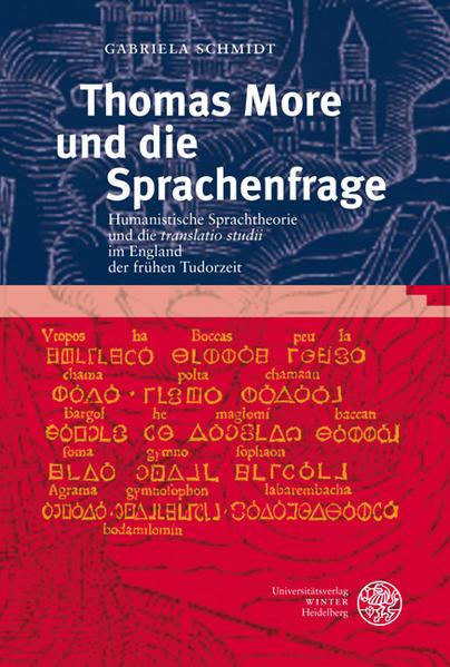 Thomas More und die Sprachenfrage als Buch (gebunden)