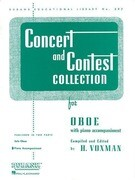 Concert and Contest Collection for Oboe: Piano Accompaniment