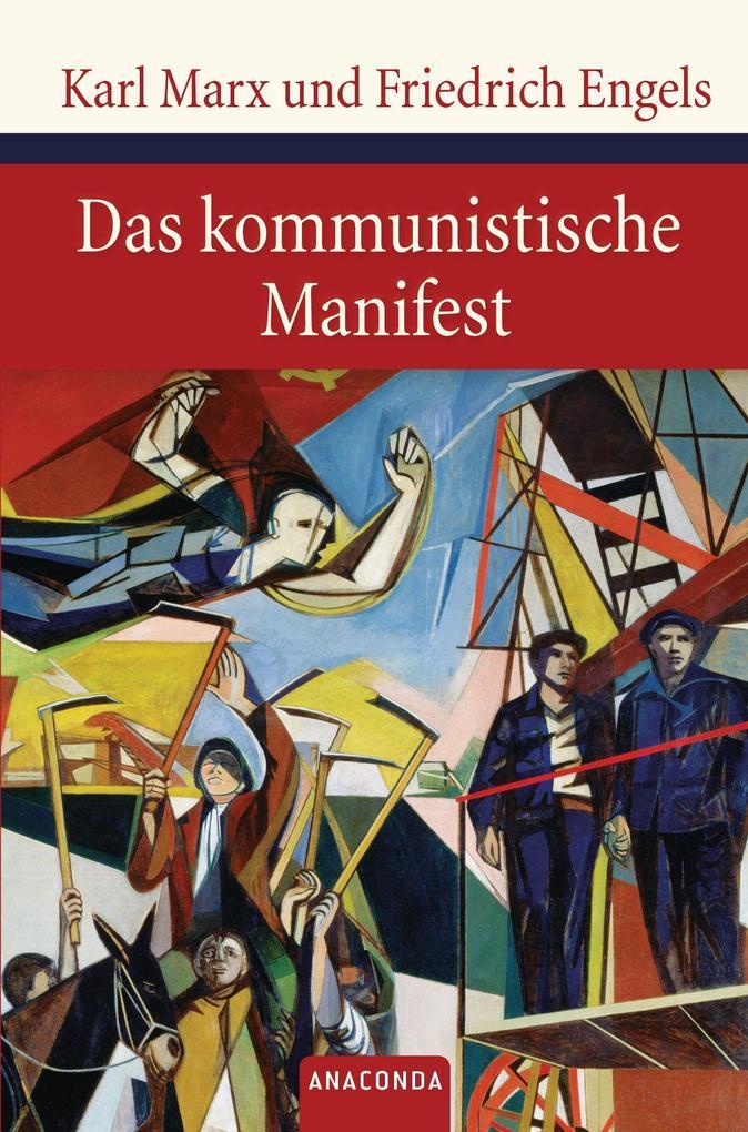 Das kommunistische Manifest als Buch (gebunden)