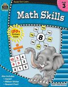 Ready-Set-Learn: Math Skills Grd 3 [With 180+ Stickers]