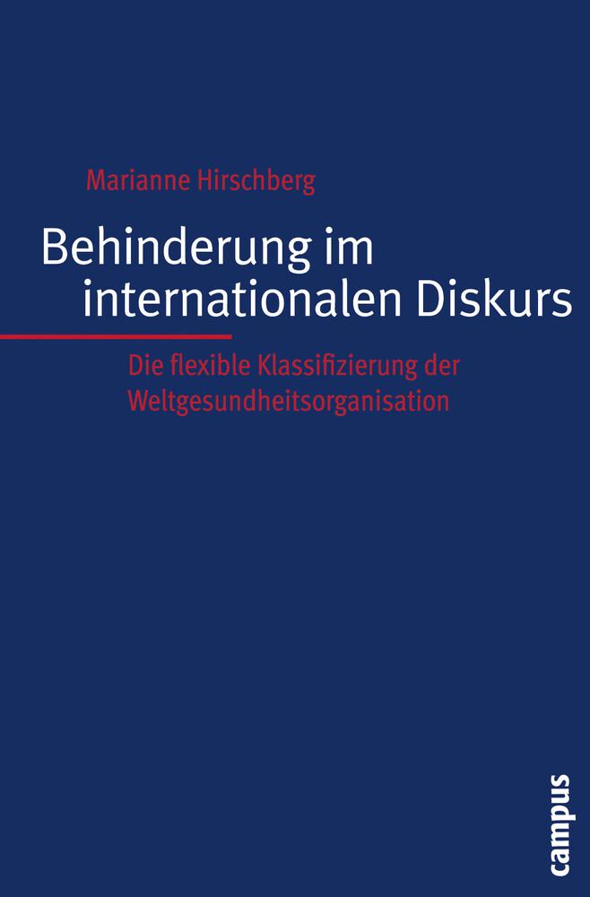 Behinderung im internationalen Diskurs als Buch (kartoniert)