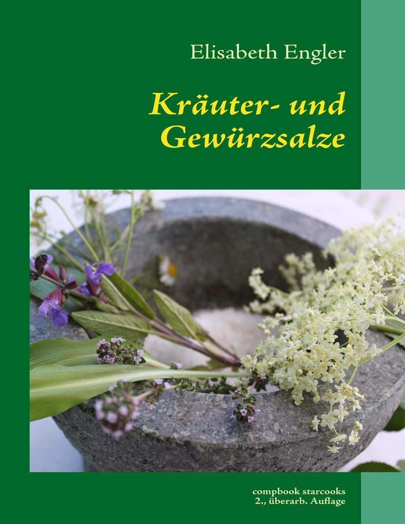 Kräuter- und Gewürzsalz als Buch (kartoniert)