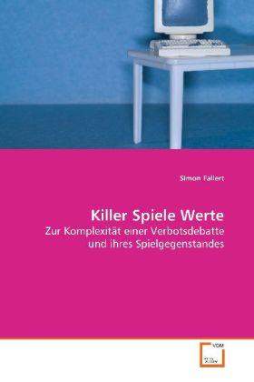 Killer Spiele Werte als Buch (kartoniert)