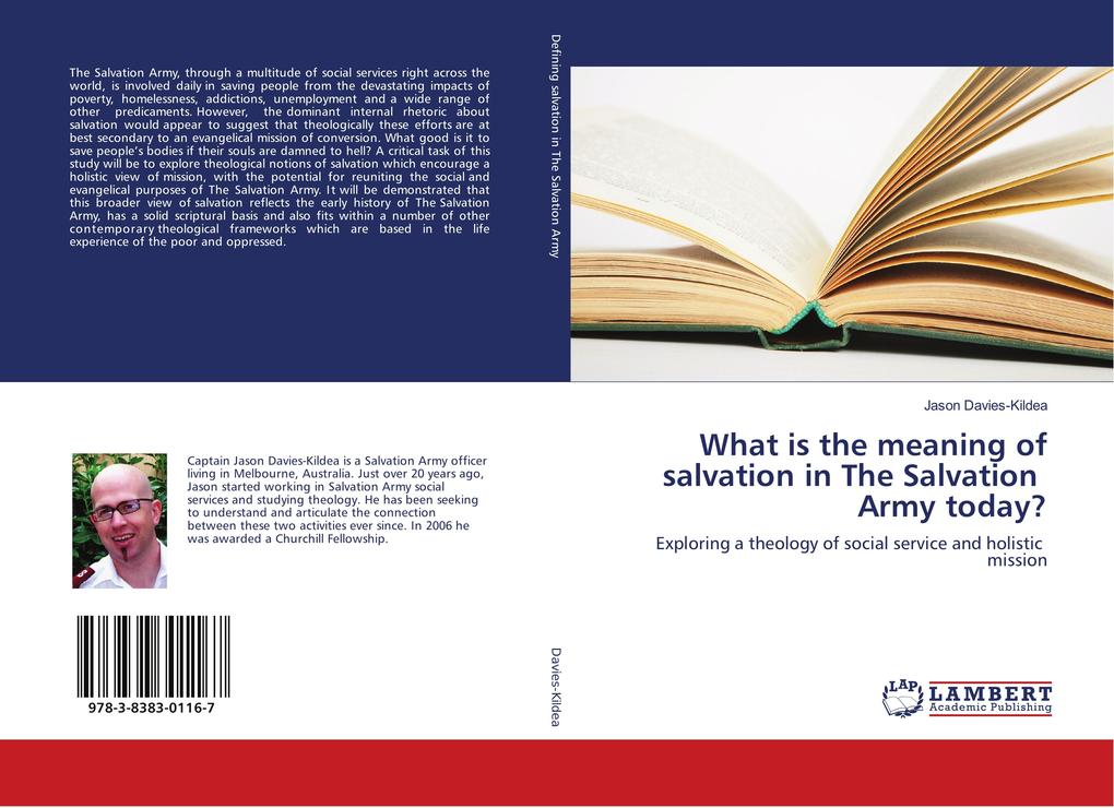 What is the meaning of salvation in The Salvation Army today? als Buch (gebunden)