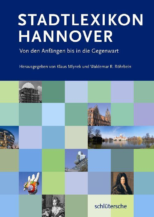 Stadtlexikon Hannover als Buch (gebunden)