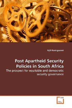 Post Apartheid Security Policies in South Africa als Buch (gebunden)