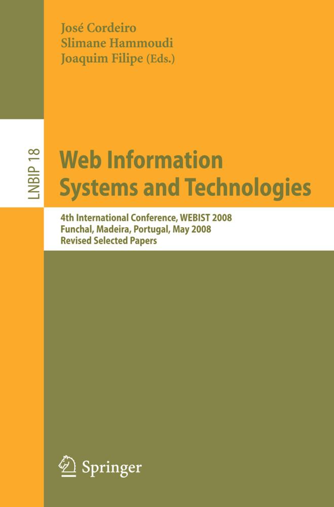 Web Information Systems and Technologies als Buch (kartoniert)