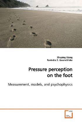 Pressure perception on the foot als Buch (kartoniert)