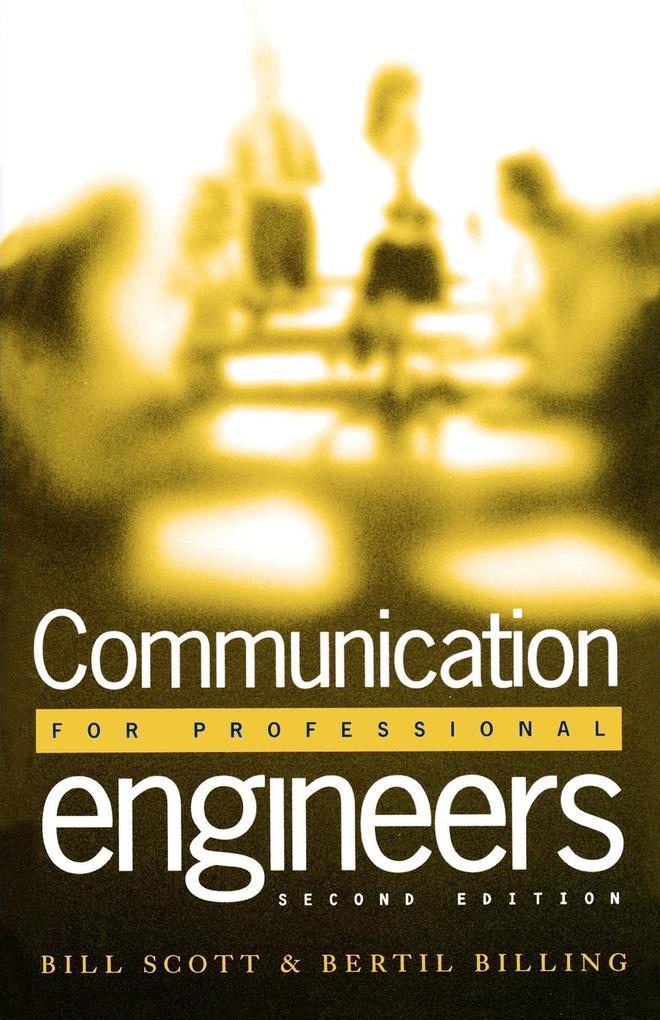 Communication for Professional Engineers als Taschenbuch