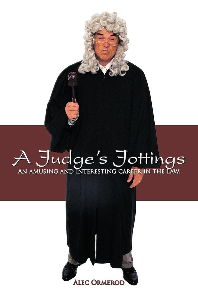 A Judge's Jottings als Taschenbuch