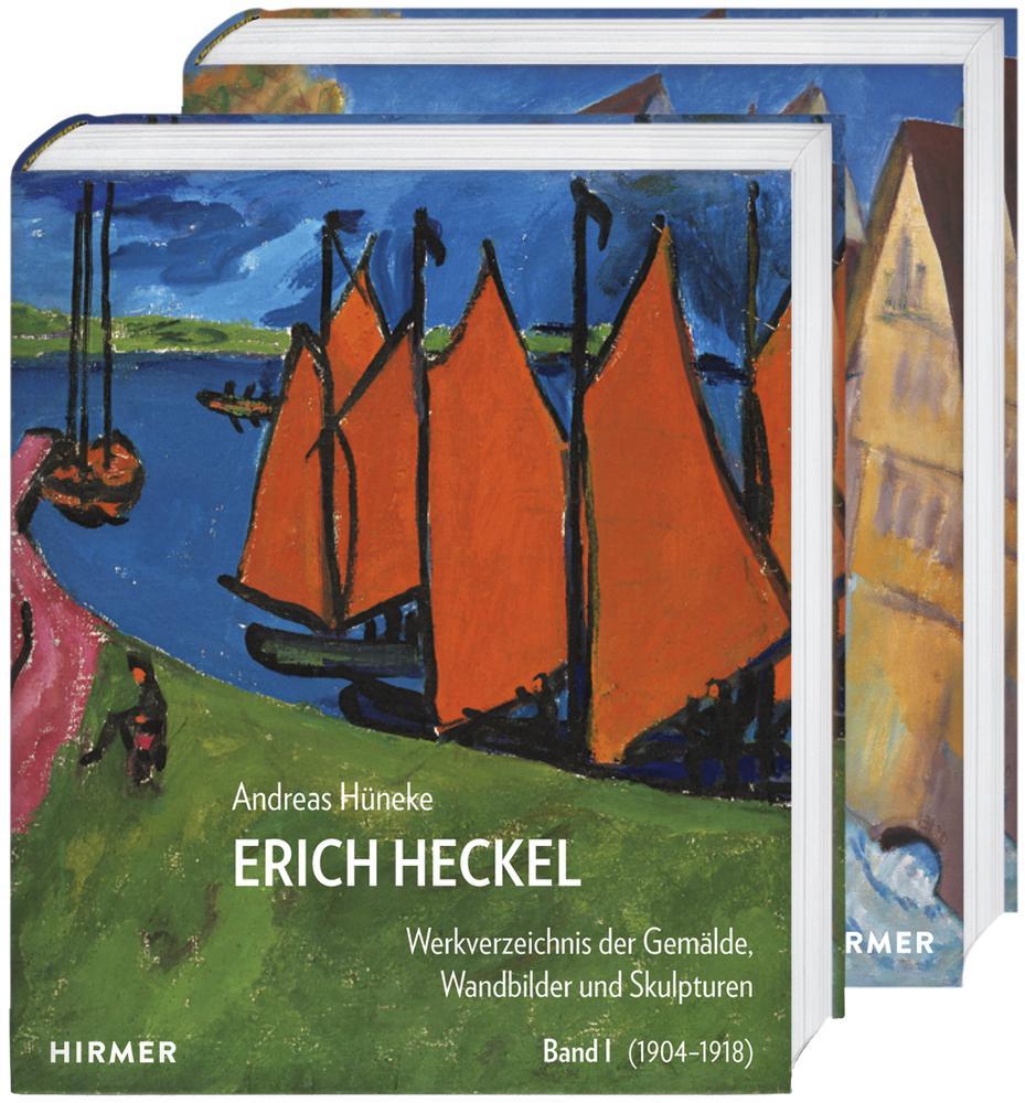 Erich Heckel - Werkverzeichnis der Gemälde, Wandbilder und Skulpturen als Buch (gebunden)
