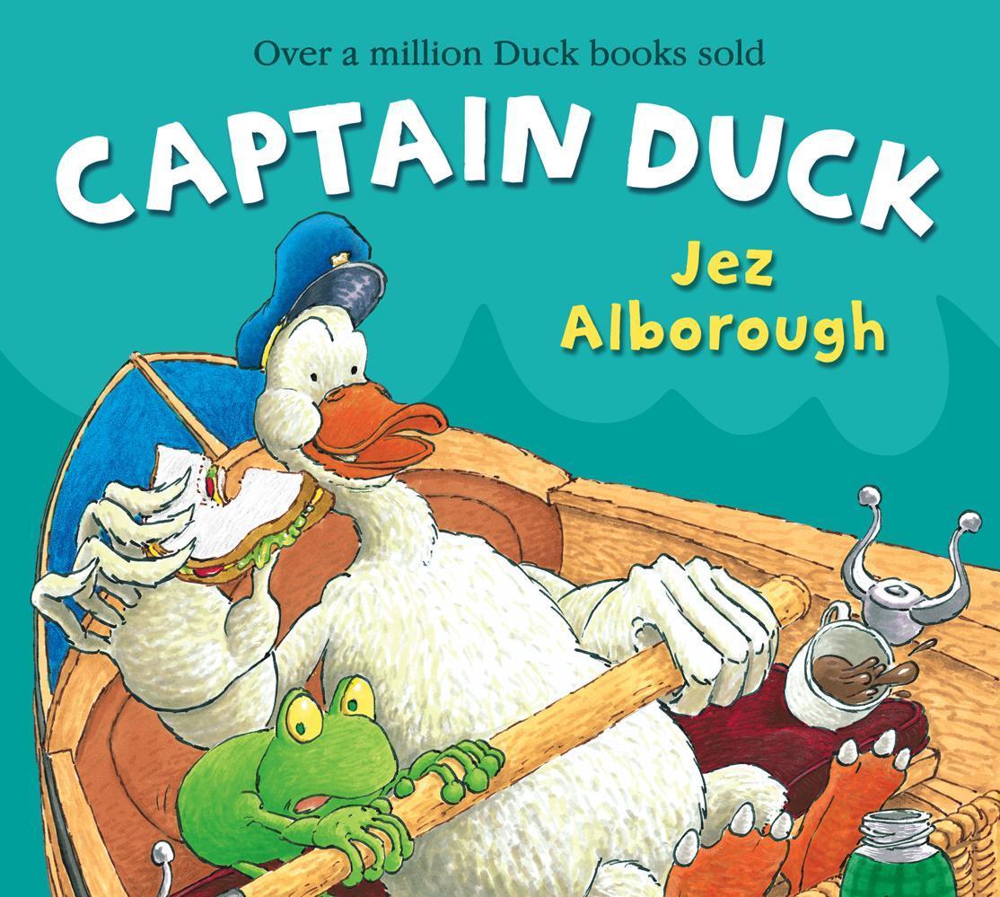 Captain Duck als Taschenbuch