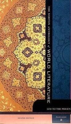 The Norton Anthology of World Literature: Volumes D, E & F als Taschenbuch