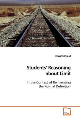 Students' Reasoning about Limit als Buch (kartoniert)