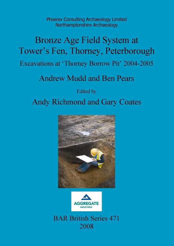 Bronze Age Field System at Tower's Fen, Thorney, Peterborough als Taschenbuch