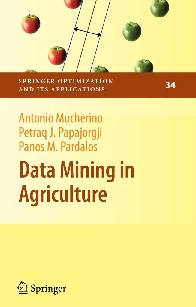 Data Mining in Agriculture als Buch (gebunden)