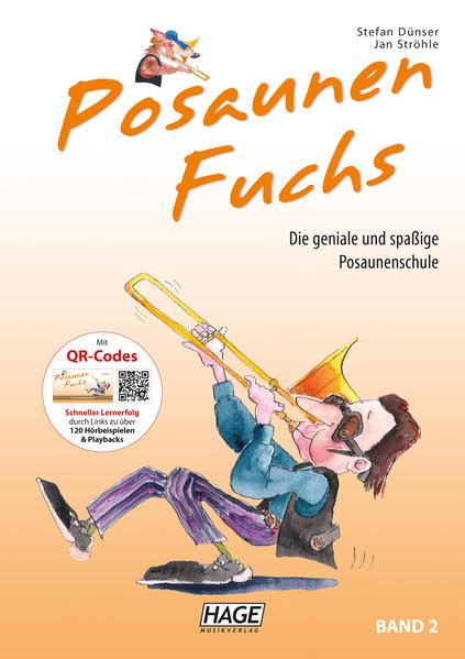 Posaunen Fuchs Band 2 mit CD als Buch (kartoniert)