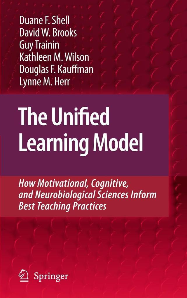 The Unified Learning Model als Buch (gebunden)