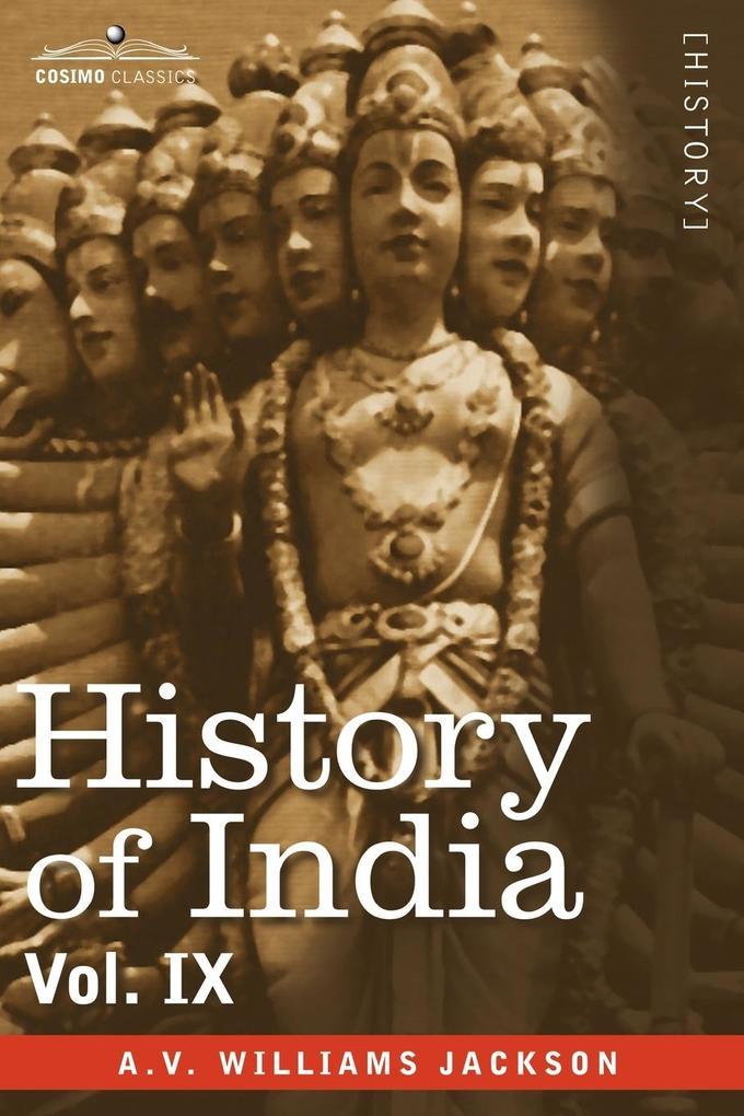 History of India, in Nine Volumes als Taschenbuch