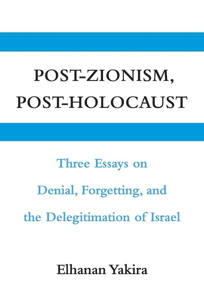 Post-Zionism, Post-Holocaust als Taschenbuch