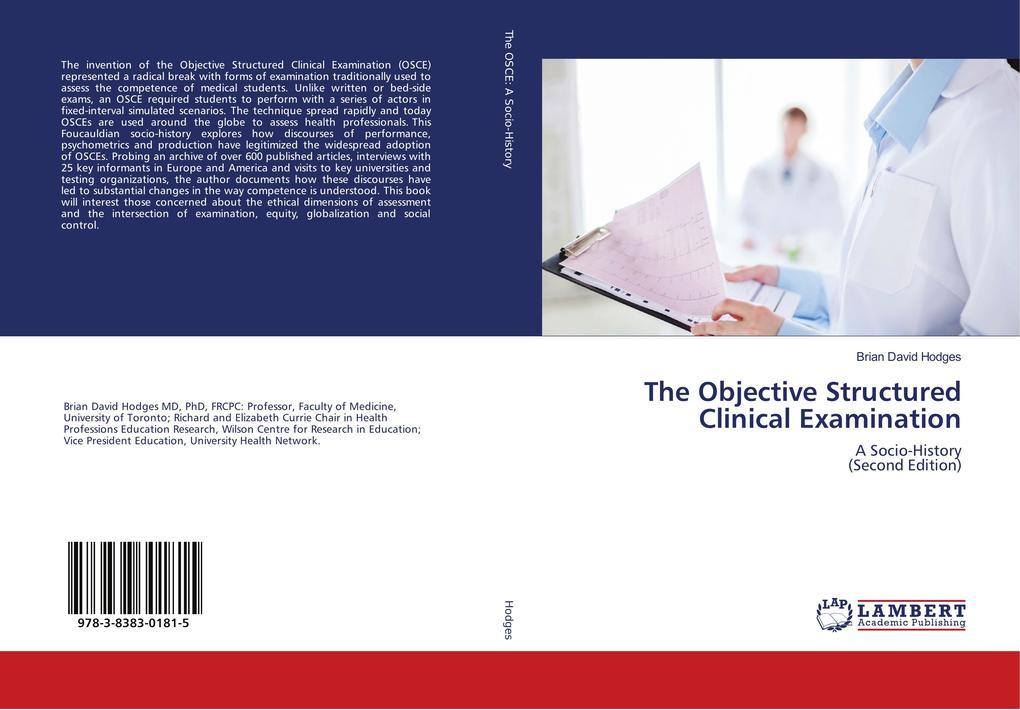 The Objective Structured Clinical Examination als Buch (gebunden)
